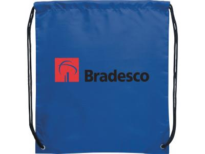 Promotional Giveaway Bags | The Oriole Drawstring Cinch Backpack Blue