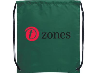Promotional Giveaway Bags | The Oriole Drawstring Cinch Backpack Green