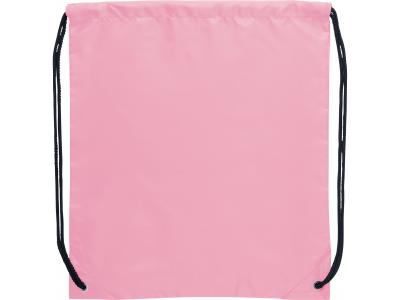 Promotional Giveaway Bags | The Oriole Drawstring Cinch Backpack Pink