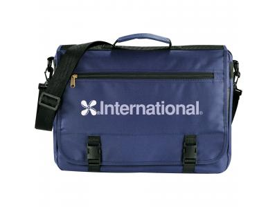 Promotional Giveaway Bags | The Mariner Business Briefcase Navy Blue