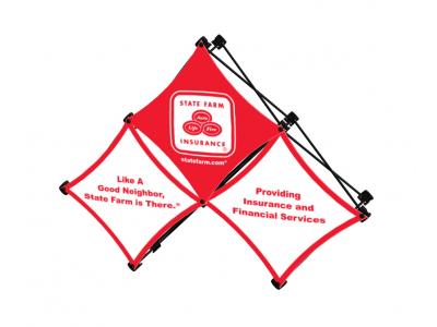 Pop Up Table Top Display | Kit A 3Quad SalesMate