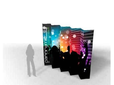 Panoramic Wall 10D | Trade Show Displays