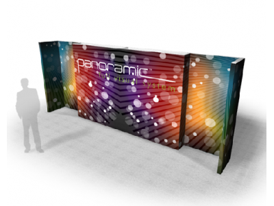 Panoramic Wall 20C | Trade Show Displays