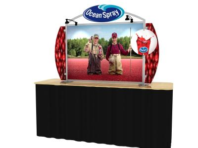 VK-0002 Sacagawea Portable Hybrid Display | Table Top Display