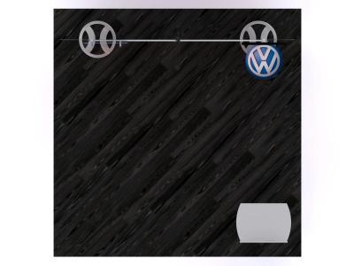 VK-1121 Portable Hybrid Floor Plan   Custom Modular Hybrid Displays