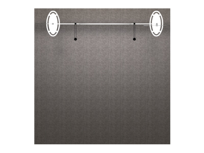 VK-1209 Sacagawea Tension Fabric Displays | Trade Show Displays