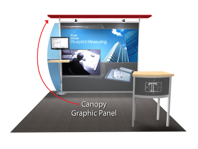 Trade Show Displays | Sacagawea Display Solid Standard Color Canopy Replacement