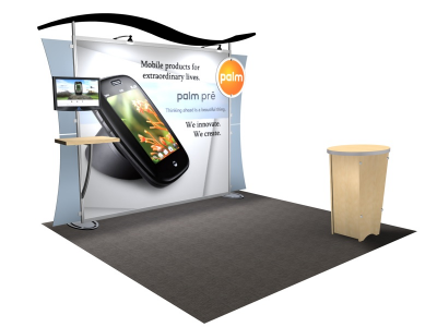 VK-1234 Sacagawea Tension Fabric Displays | Trade Show DIsplays
