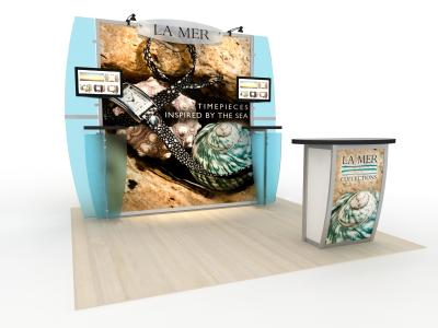 Trade Show Displays | VK-2124 Magellan Magic