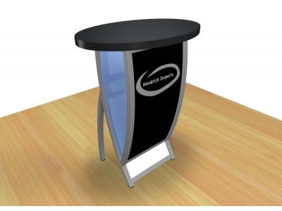 Perfect 10 - VK-1602 Pedestal | Custom Modular Hybrid Displays