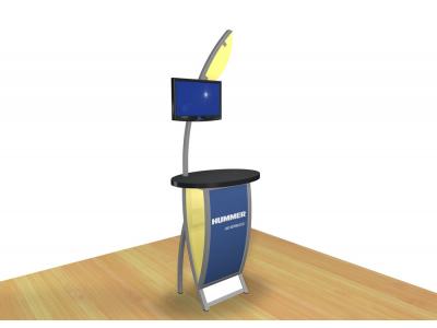 Perfect 10 - VK-1606 Pedestal | Custom Modular Hybrid Displays