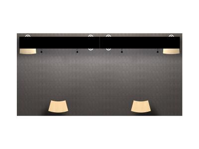 VK-2107 Sacagawea Tension Fabric Displays | Trade Show Displays