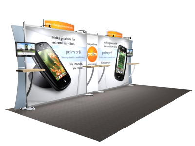 VK-2110 Sacagawea Tension Fabric Displays | Trade Show Displays