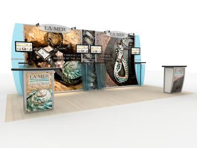 Trade Show Displays | VK-1240 Magellan Magic