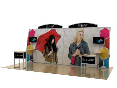 VK-2128 20 Ft. Magellan Miracle |  Portable Custom Modular Hybrid Displays