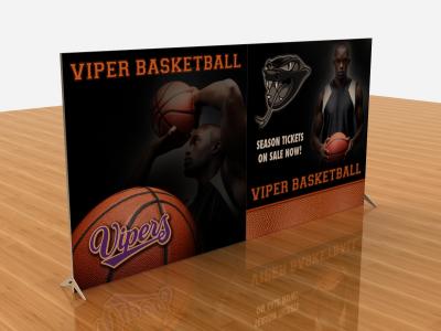 Tension Fabric Display Graphics | VK-2307 SEGUE Sunrise