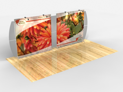 Tension Fabric Display Graphics | VK-2309 SEGUE Sunrise