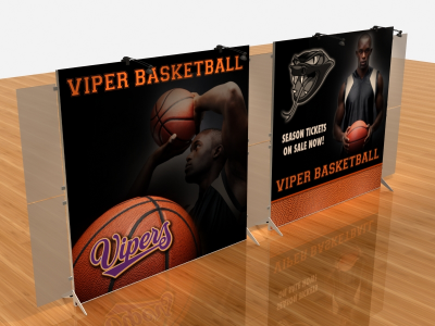 Tension Fabric Display Graphics | VK-2310 SEGUE Sunrise