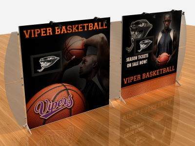 Tension Fabric Display Graphics | VK-2311 SEGUE Sunrise
