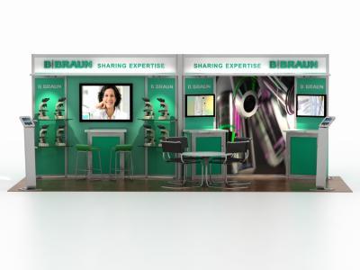 DM-0971 20 Foot Visionary Designs | Trade Show Displays