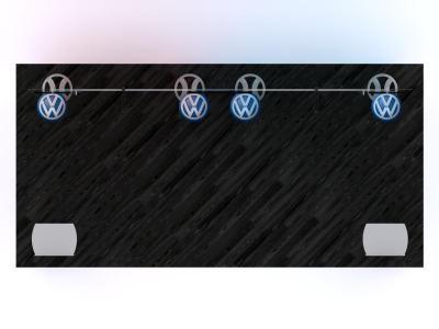 Custom Modular Hybrid Displays | VK-2964 Portable Hybrid Floor Plan