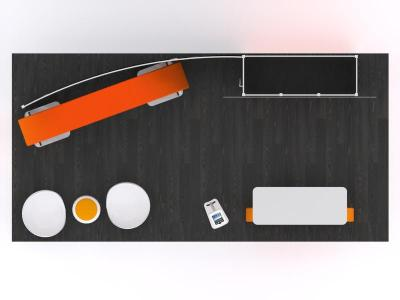 Custom Modular Hybrid Displays | VK-2968 20 Ft Visionary Designs Inline