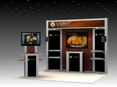 10' Visionary Designs VK-1075 | Modular Hybrid Displays