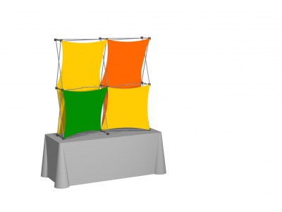 Pop Up Table Top Display   XSNAP 2x2F