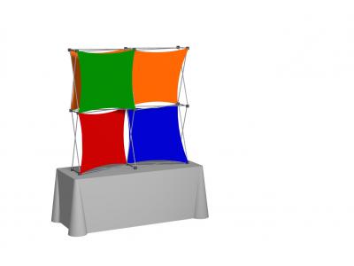 Pop Up Table Top Display | XSNAP 2x2J