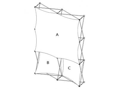 Pop Up Display | XSNAP 2x3I schematic