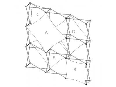 Pop Up Display | XSNAP 3x3C schematic