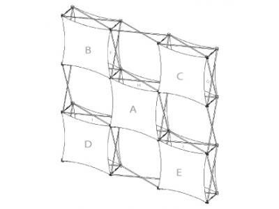 Pop Up Display | XSNAP 3x3J schematic