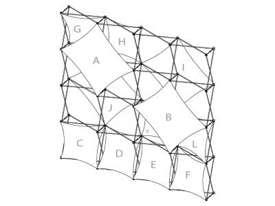 Pop Up Display | XSNAP 4x4B schematic