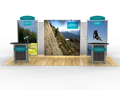 Lightbox & Backlit Displays | VK-2318 Trade Show Exhibit