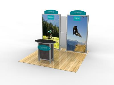 Lightbox & Backlit Displays | VK-1096 Trade Show Exhibit