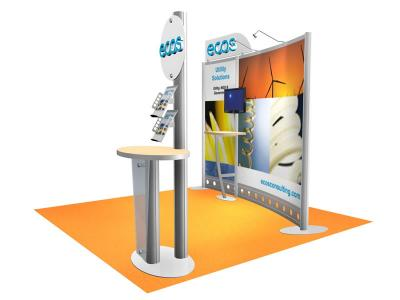 VK-1099 10 Ft Visionary Designs |  Trade Show Displays