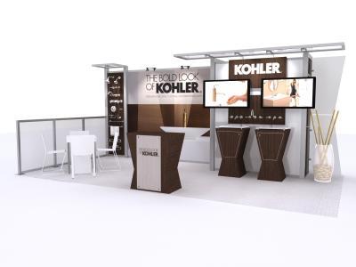 VK-1322 10 Ft Visionary Designs | Custom Modular Hybrid Displays