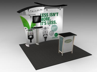 VK-1901 SEGUE Hybrid Display | Counters Pedestals Kiosks & Workstations