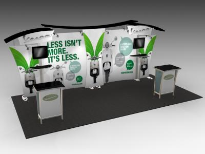 VK-2900 SEGUE Hybrid Display | Counters Pedestals Kiosks & Workstations