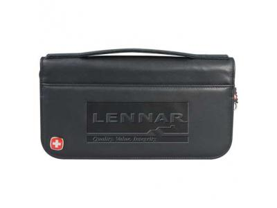 Promotional Giveaway Gifts & Kits | Wenger Leather Travel Wallet