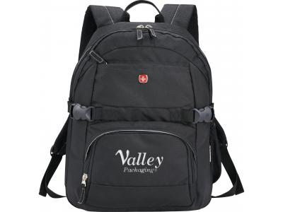 Promotional Giveaway Bags & Totes   Wenger Raven Compu-Backpack