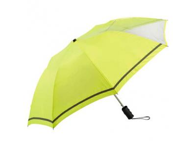 "Promotional Giveaway Gifts & Kits | 42"" Clear View Auto Open Safety Umbrella"
