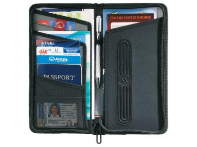 Promotional Giveaway Gifts & Kits | elleven Traverse RFID Travel Wallet