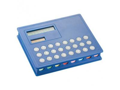 Promotional Giveaway Technology | Calculator & Sticky Note Case