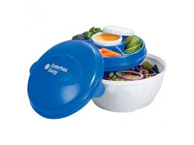 Promotional Giveaway Bags   Cool Gear Deluxe Salad Kit
