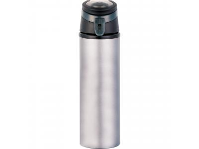 Promotional Giveaway Drinkware | Sheen Aluminum Bottle 20oz Silver