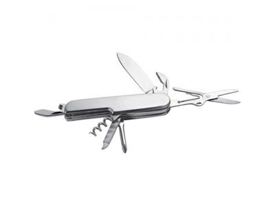 Promotional Giveaway Gifts & Kits   8-Function Stainless Steel Knife