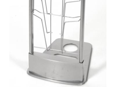 Innovate Literature Stand - Silver