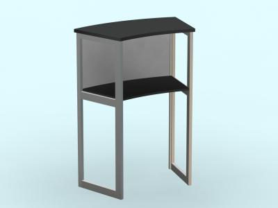 MOD-1224 Pedestal | Display Counters