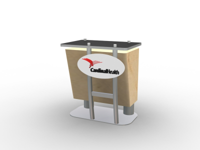MOD-1214 Counter | Counters Kiosks Pedestals & Workstations
